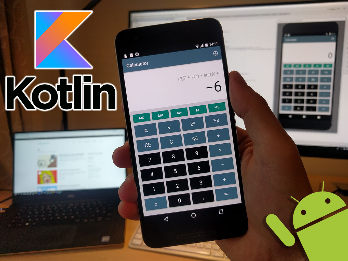 Let's learn Kotlin by building Android calculator app