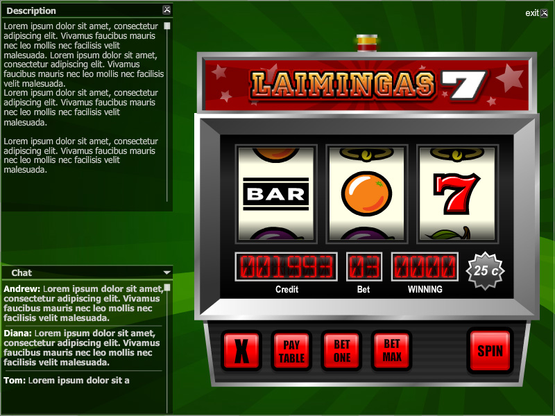 Slot Machine Flash Game